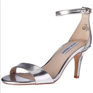 e5e2b1d9747 Steve Madden. Steve Madden Sillly Dress Sandal Silver Foil